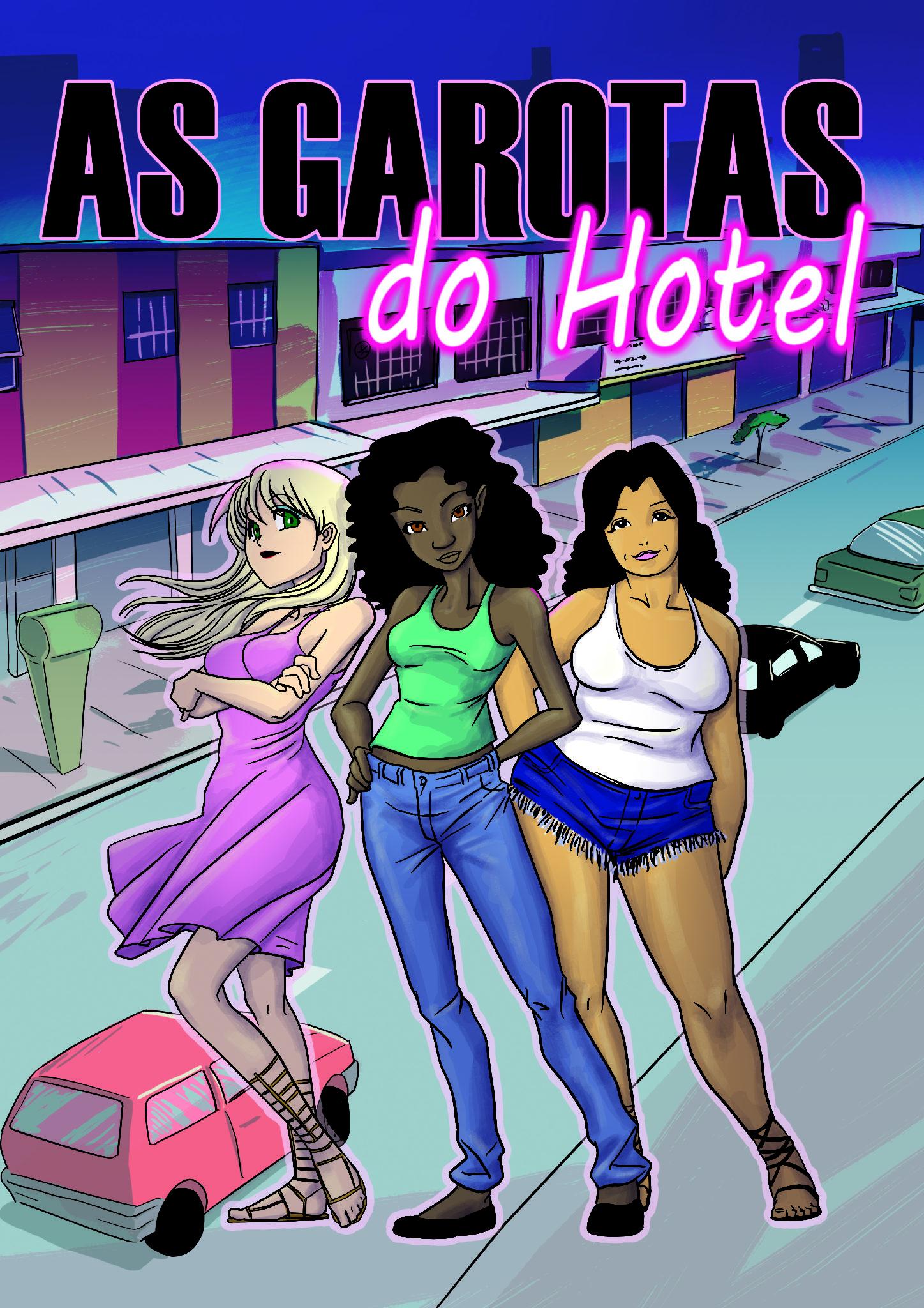 Capa Garotas do Hotel