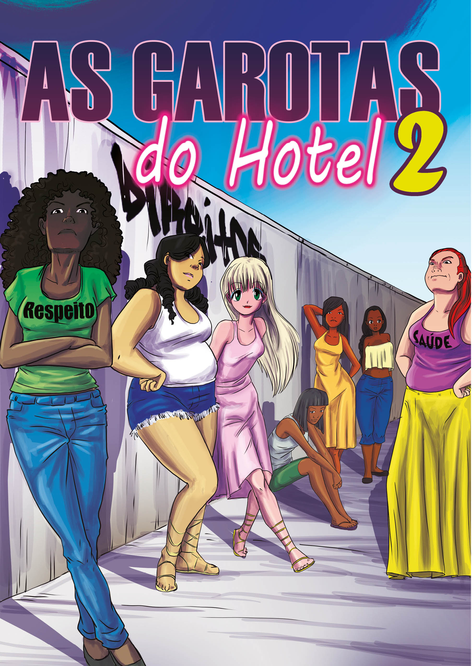 Revista Garotas do Hotel 2
